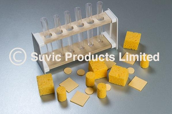 Test tube sponges